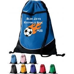 Drawstring Backpack Example