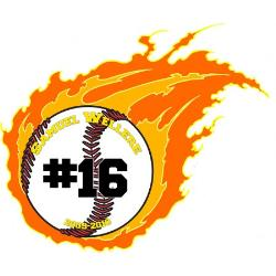 Flaming Stickers Example