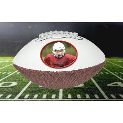 Photo Footballs Mini Size Example