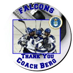 Hockey Plaque 12 Inch Example