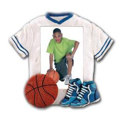 Jersey Frame Basketball Example