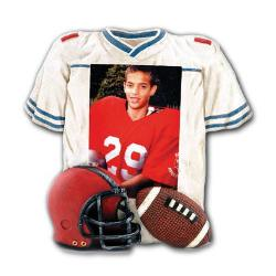 Jersey Frame Football Example