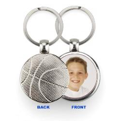 Keychain Metal - Basketball Example