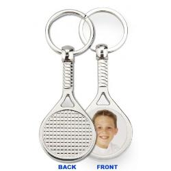 Keychain Metal - Racquetball Example
