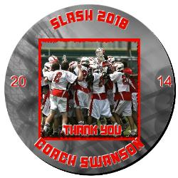 Lacrosse Plaque 12 Inch Example