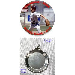 Photo Button Pendant - 1.5 inch Example