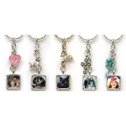 Photo Charm Keychain Example