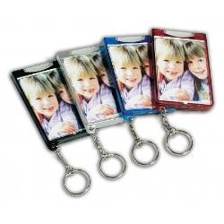 Photo Lighted Keychain Example
