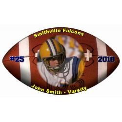 Photo Mouse Pad - Football Example