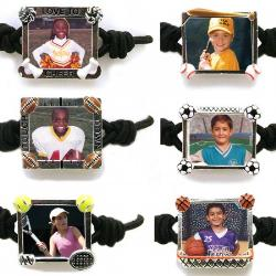 Photo Sports Bandz Bracelet Example