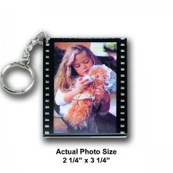 Photo Film Keychain Example