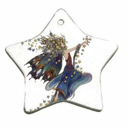 Porcelain Ornament - Star Example
