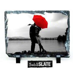 Slate Plaque - 6x8 Example