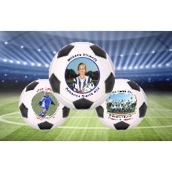 Photo Soccer Ball Mini Size Example