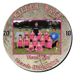 Softball Plaque 8 Inch Example