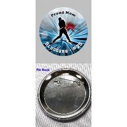 Spirit Button Blinking- 3 inch Example