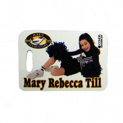 Sports Bag Tag - Rectangle Example