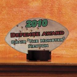 Streamline Awards - Football Example