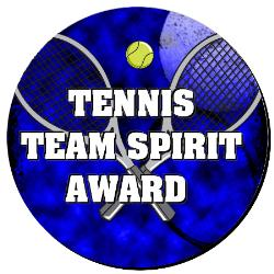 Tennis Plaque 8 Inch Example
