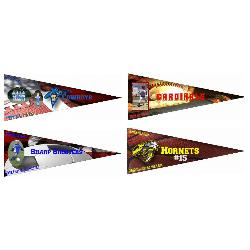 Wall Pennants Example