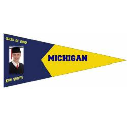 Wall Pennant - Outdoor 24x60 Example