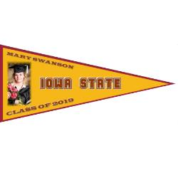 Wall Pennant - Outdoor 36x90 Example